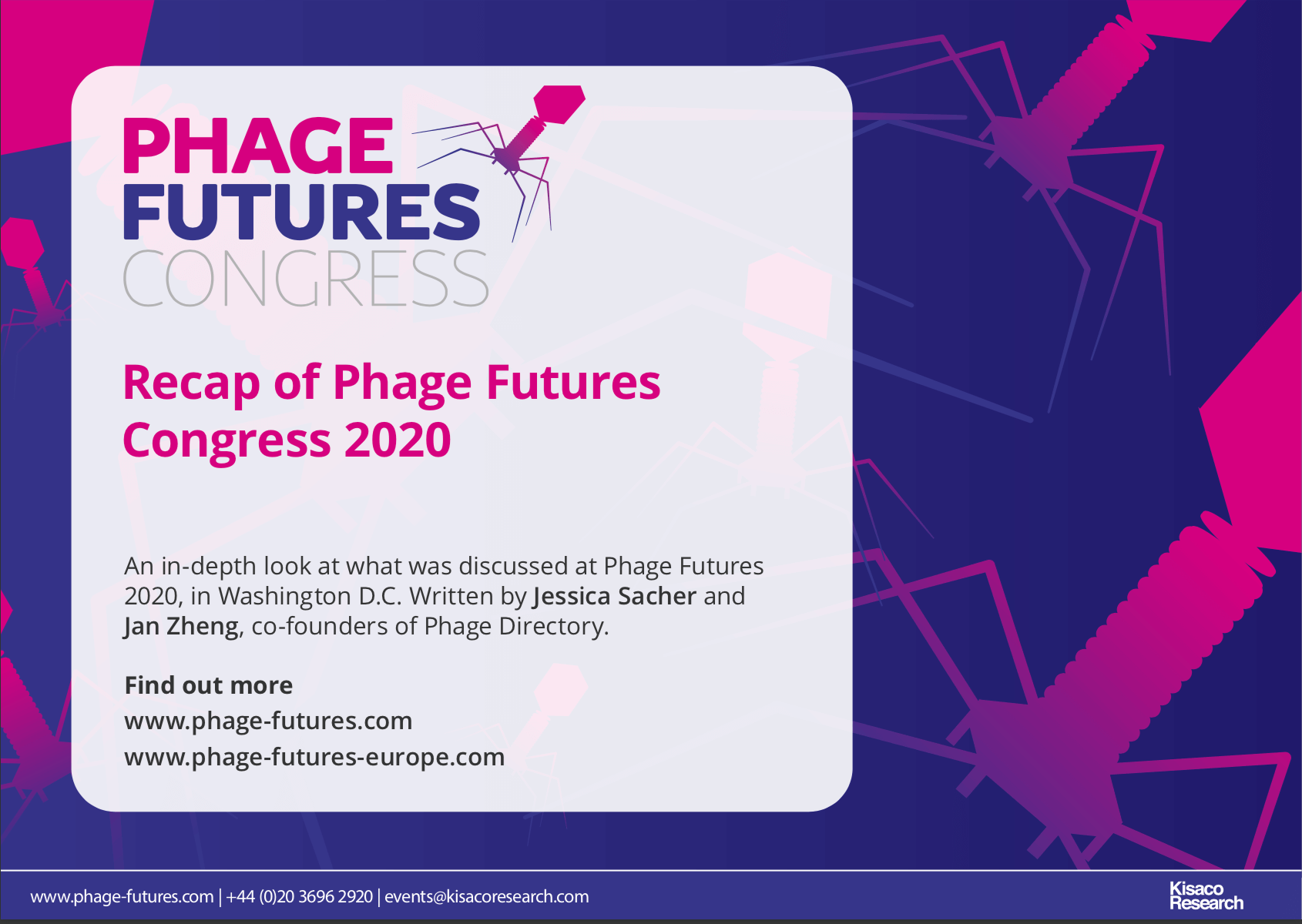 Phage Futures Europe Report