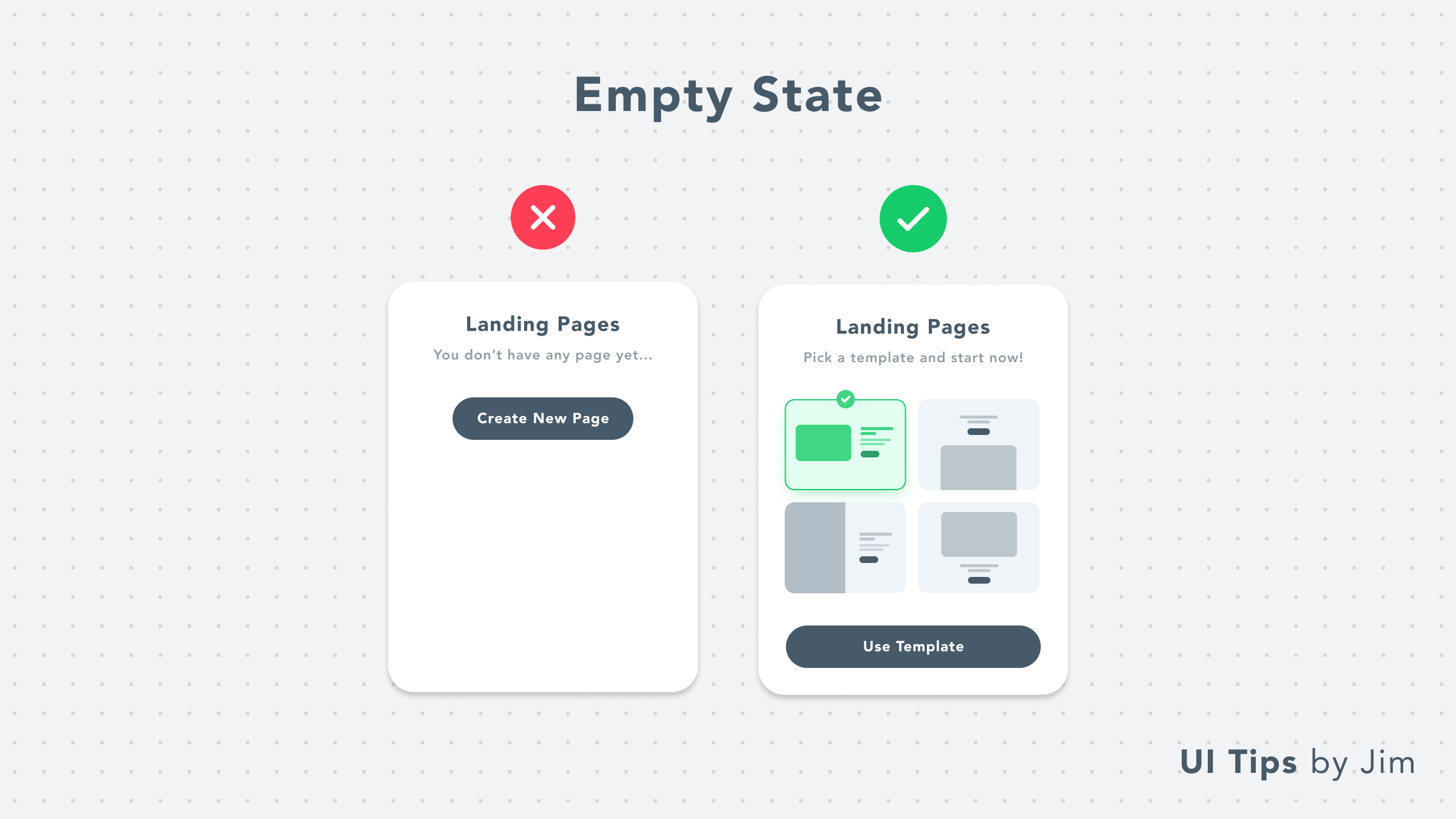 Empty State With Templates