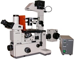 Olympus IMT2 Inverted Phase Contrast Microscope