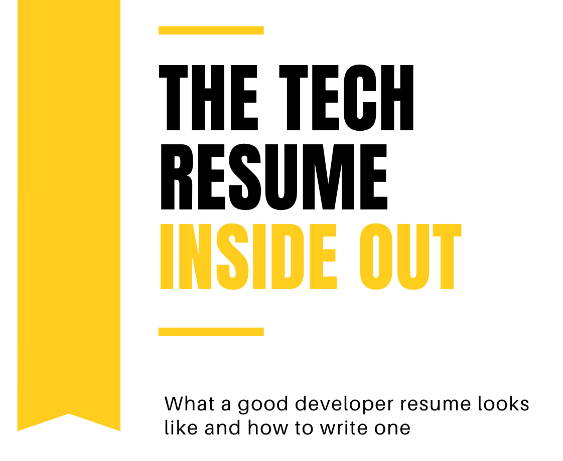 The Tech Resume Inside Out