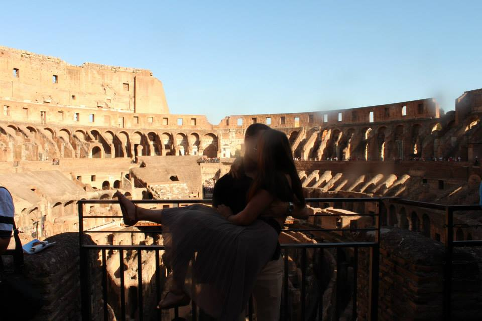 Second Date in Rome, Italy