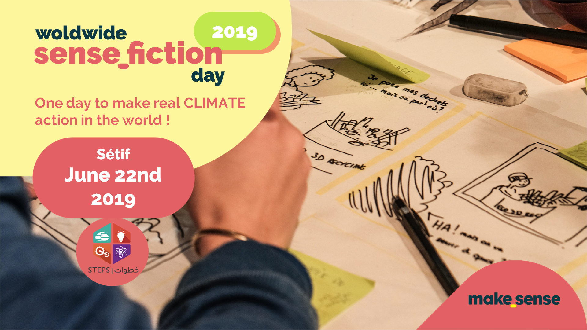 Image of the event : Sensefiction day 2019 - Sétif - Climate Action