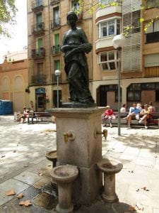 Barcelona Gracia Neighboorhood