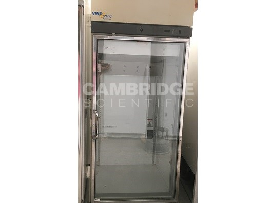 VWR VCR430A18 Glass Door Lab Refrigerator