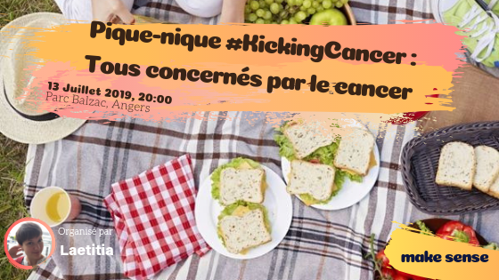 Image of the event : Pique-Nique #KickingCancer : Tous concernés par le cancer
