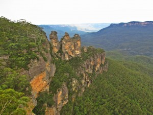blue mountains three sisters outlook