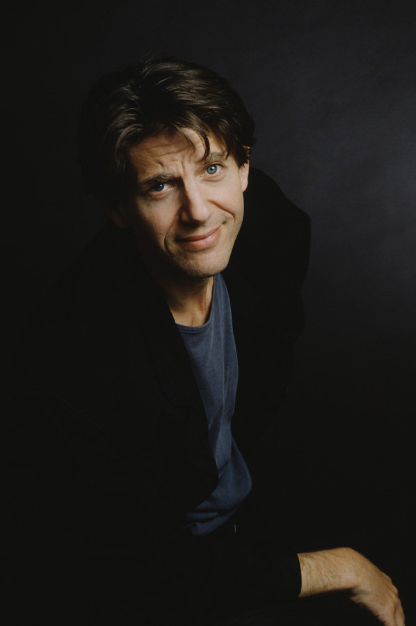 Peter Coyote en photo studio le 1 er août 1988.