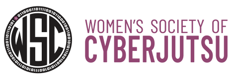 Logo of Women's Society of Cyberjutsu
