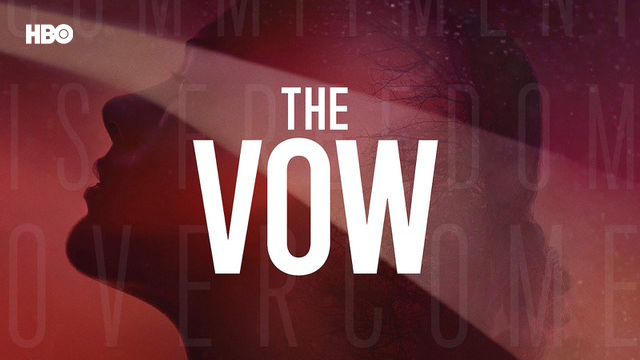 Poster of the HBO documentary series The Vow