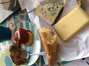 French treats from the food market