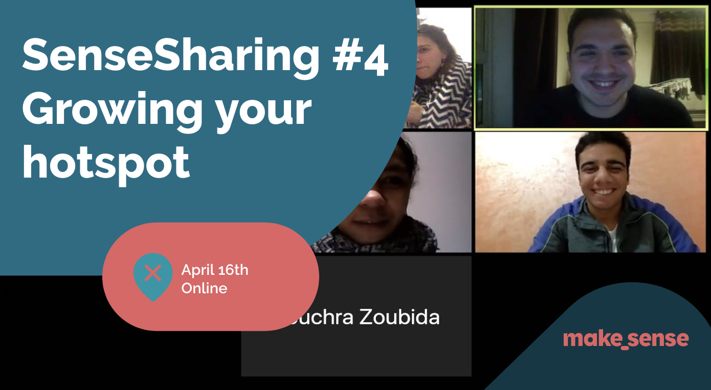 Image of the event : Sensesharing #4: Growing Your Hotspot