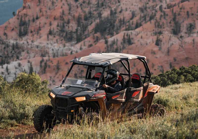 guest driving off-road vehicle through Cedar Breaks National monument