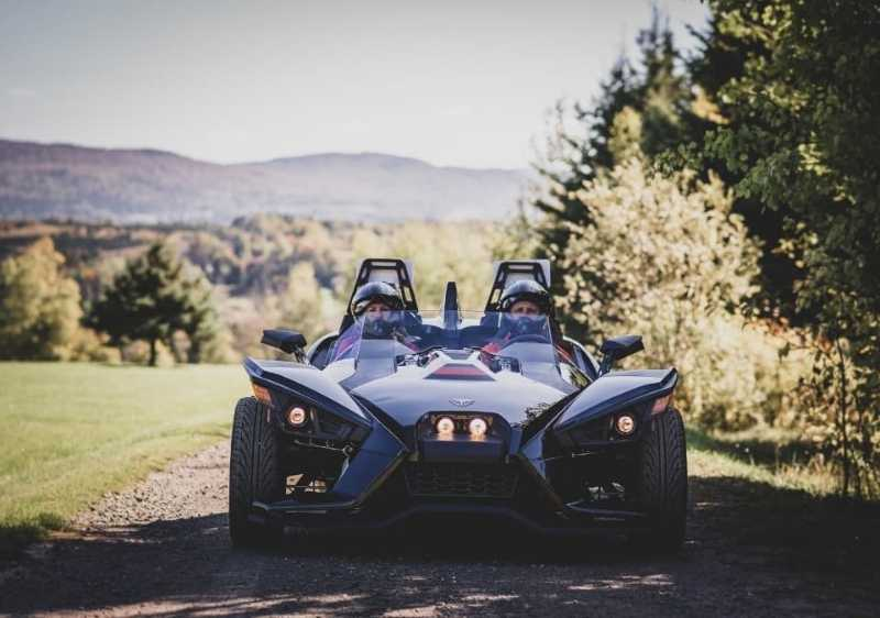 front end Polaris Slingshot