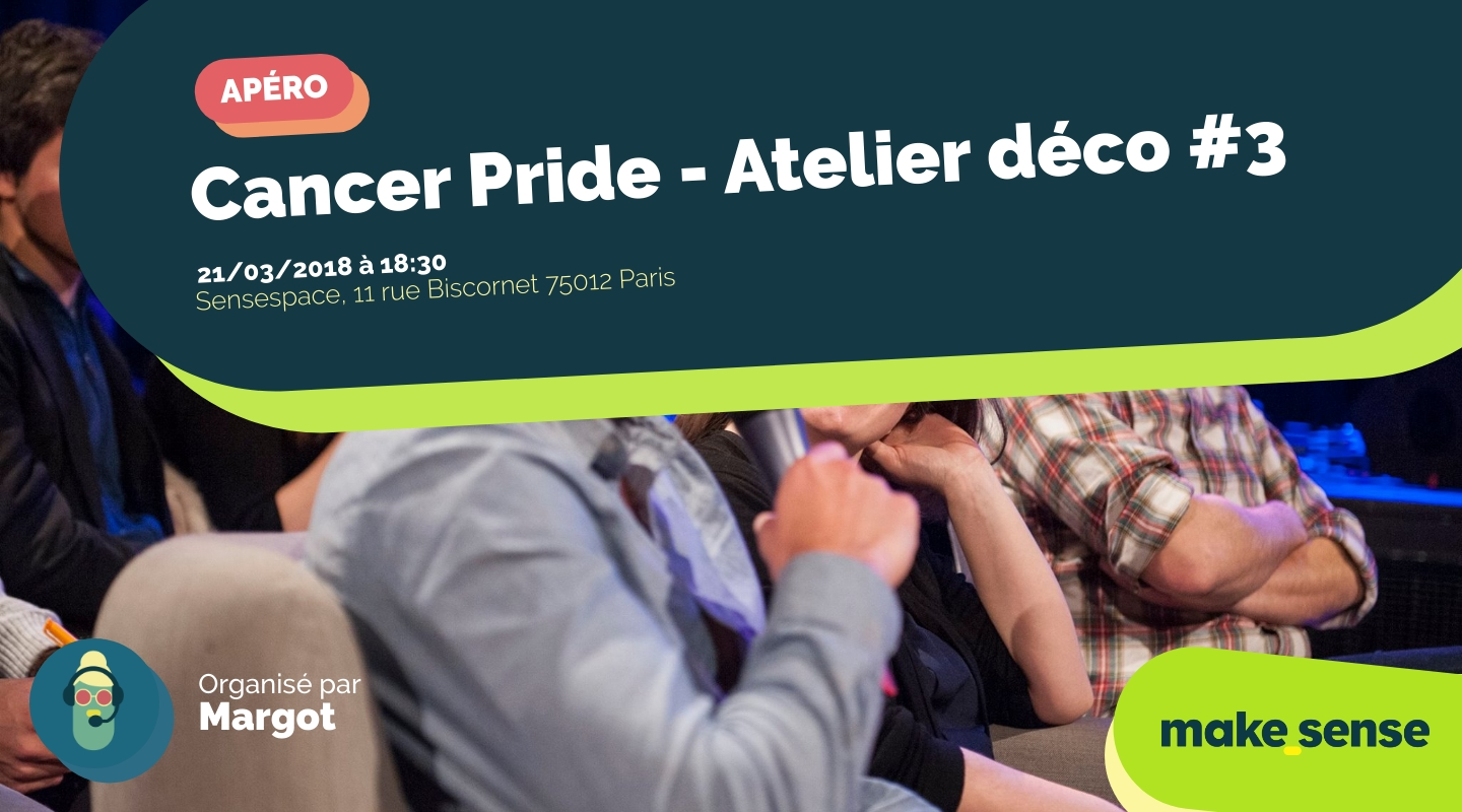 Image of the event : Cancer Pride - Atelier déco #3
