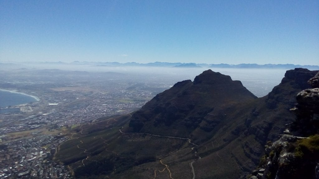 Table Mountain Cape Town view