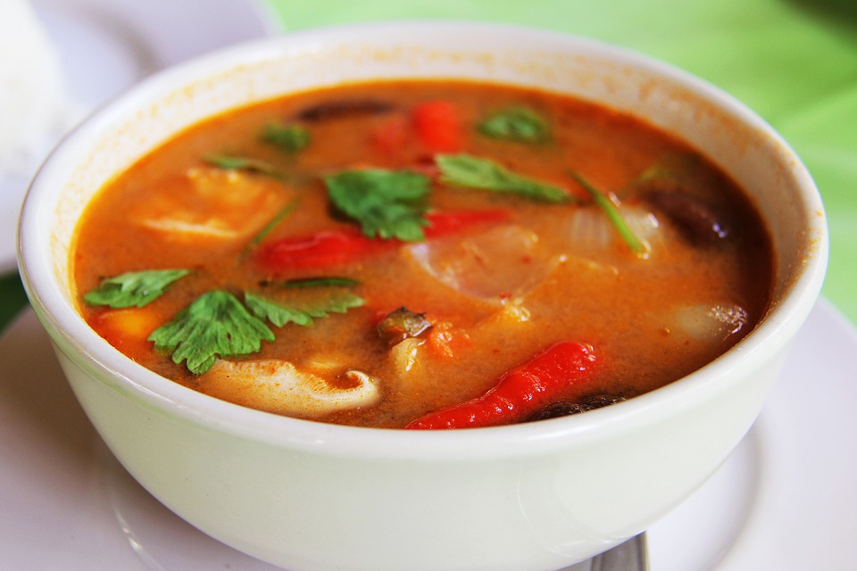 Spicy Mixed Vegetable Soup