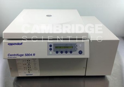 Eppendorf 5804R *NEW* Benchtop Refrigerated Centrifuge