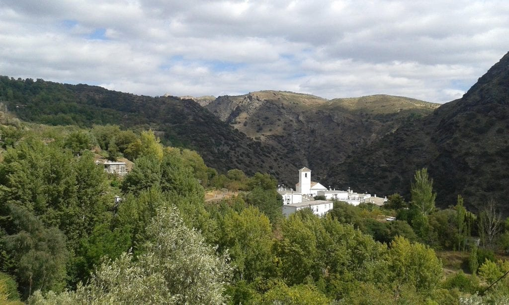Ferreirola and the Mezquita in the distance