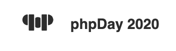 Logo of phpDay 2020