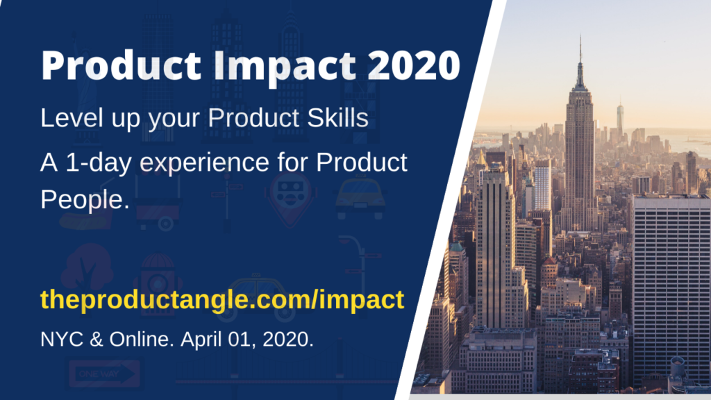 Logo of Product Impact 2020 - Learn by doing