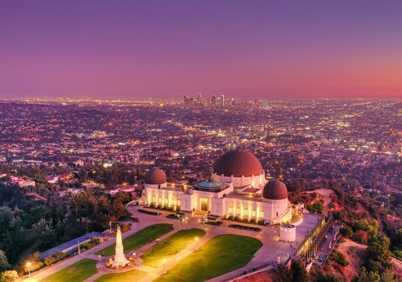 aerial-view-of-Griffith-observatory