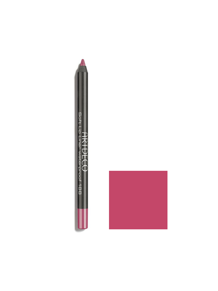 Soft lip liner waterproff 188 (shy rose)