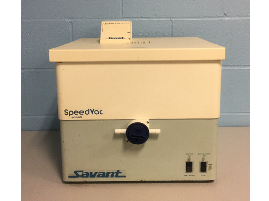 Savant SG210D-120 Vacuum Concentrator/Gel Dryer