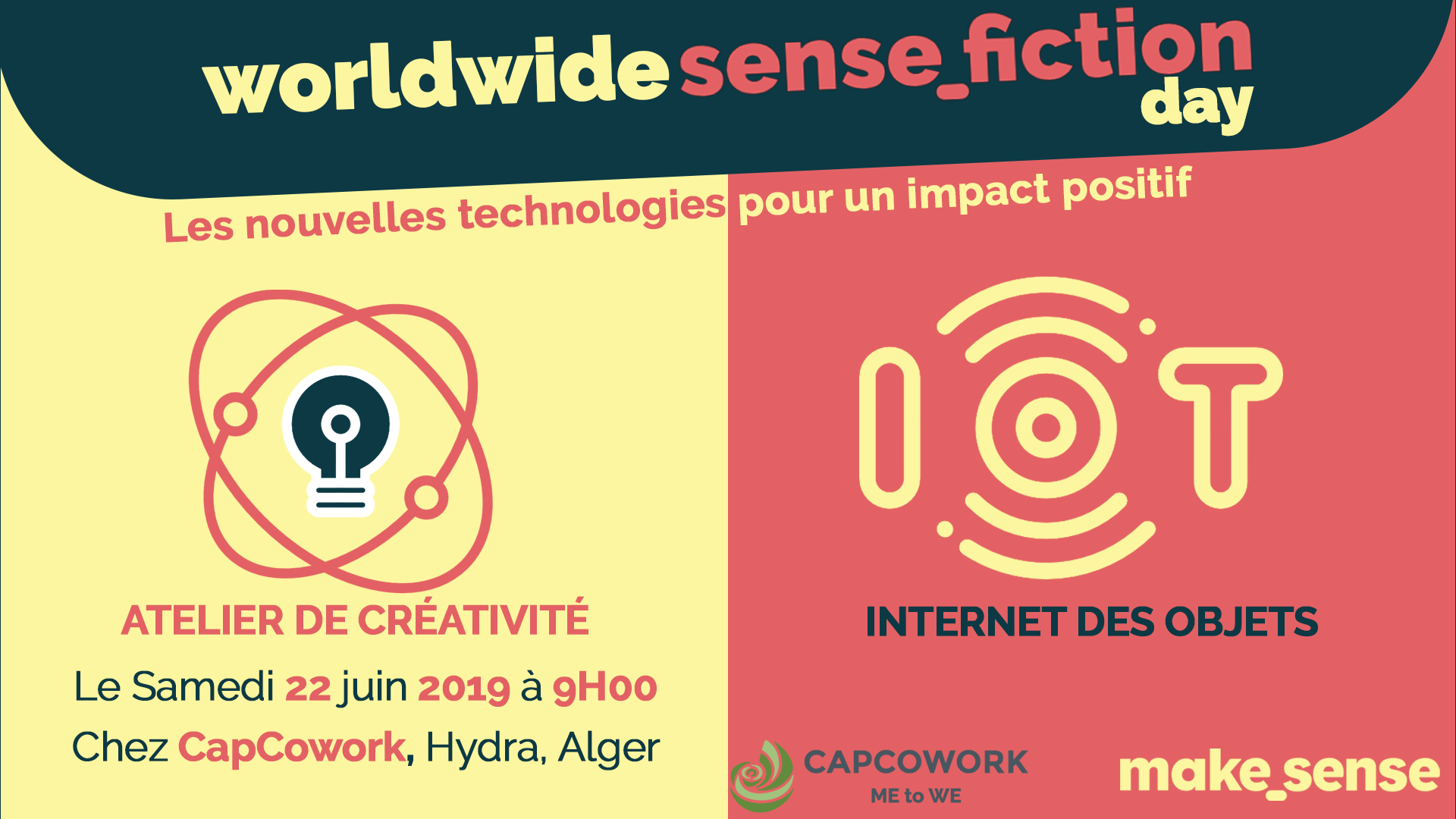 Image de l'événement : worldwide sense_fiction day: Tech for Good
