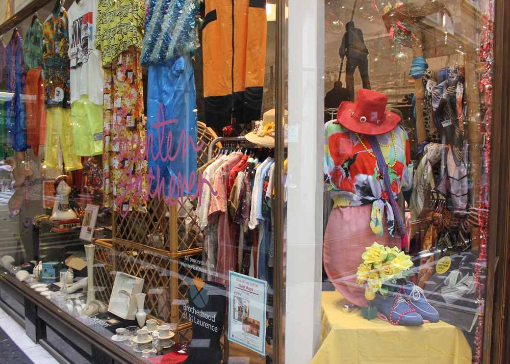 This is a photo of our Hunter Gatherer (HG) store in the Melbourne CBD
