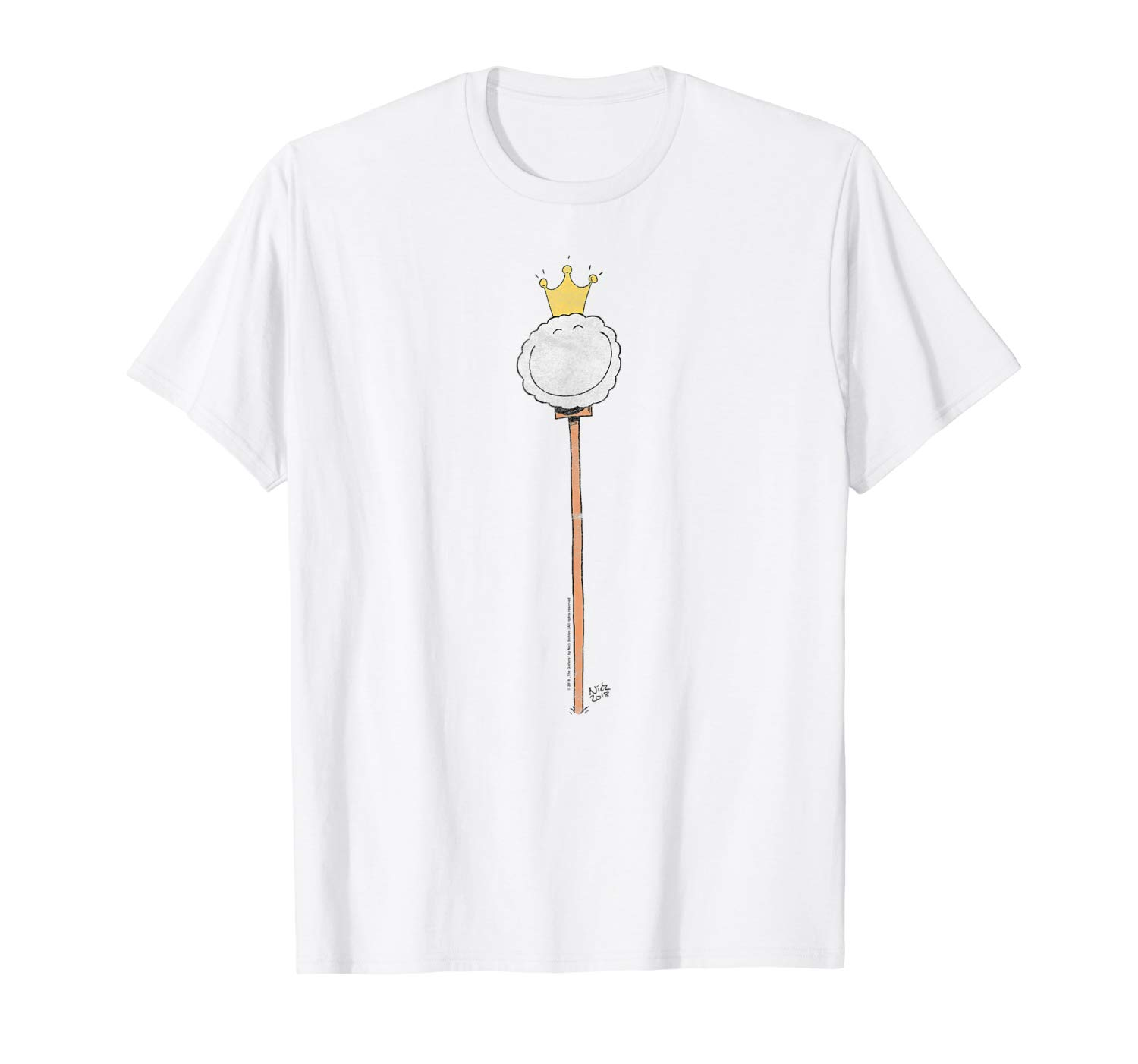 T-Shirt: I feel like a King Lustiges Golfball Golf Shirt Design T-Shirt