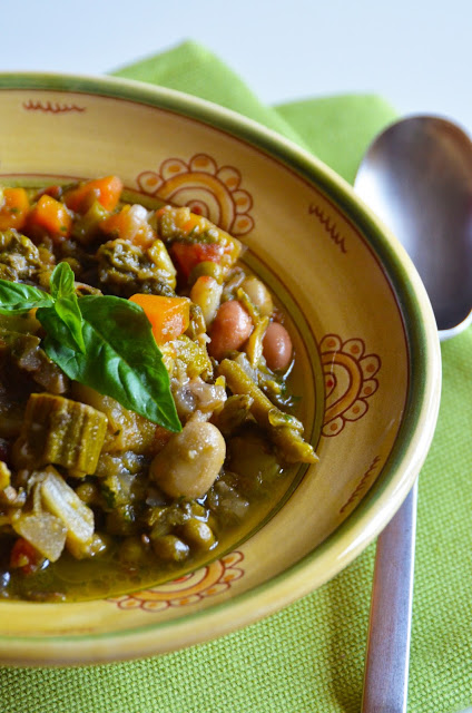 Vegetable traditional soup