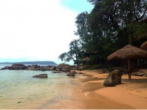 Secluded beaches only a half an hour walk away.