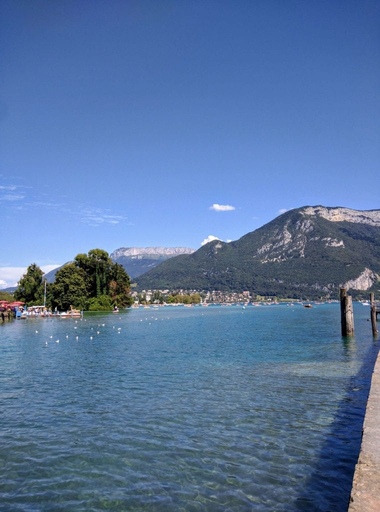 It's No Surprise That Lake Annecy is One of Europe's Purest Lakes