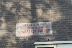 House of Rembrandt in Leiden