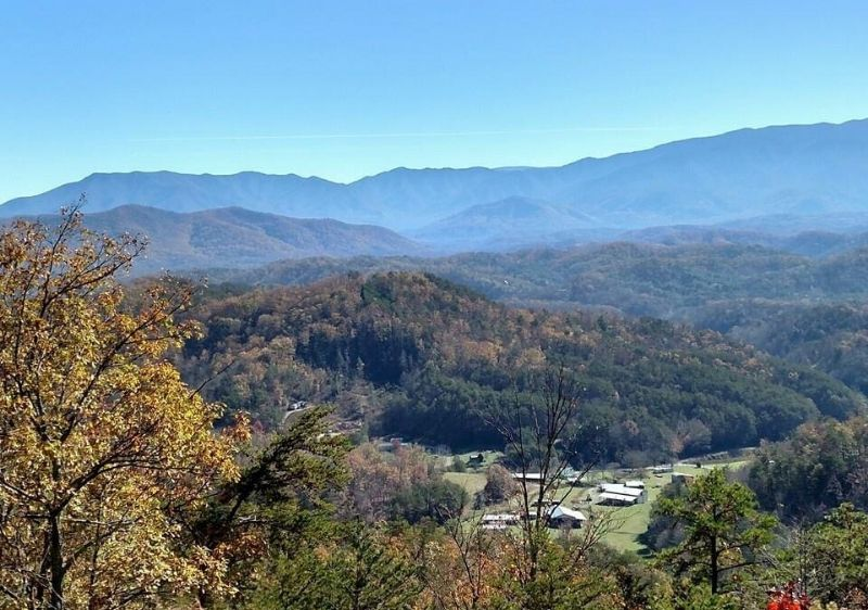 aerial-view-of-the-Smoky-Mountains