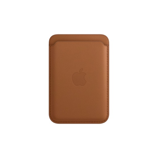 iPhone Leather Magsafe Wallet, Saddle Brown
