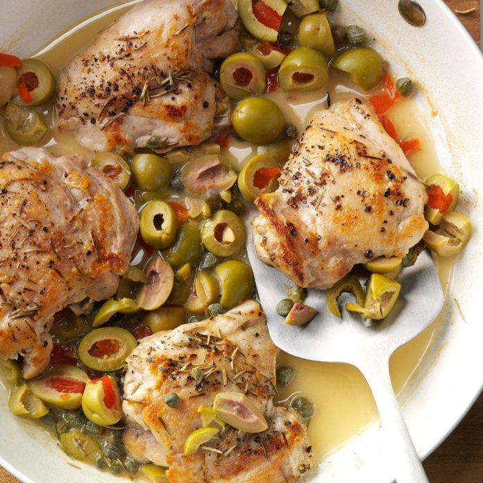 Chicken in Olives