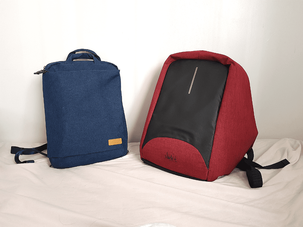 off toco antitheft laptop backpack vs my previous one