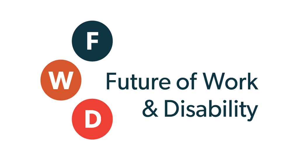 FWD: Future of Work and Disabiltiy logo