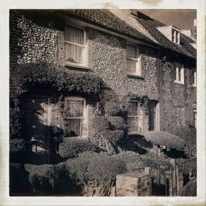 Cottages in Downe, Kent, England