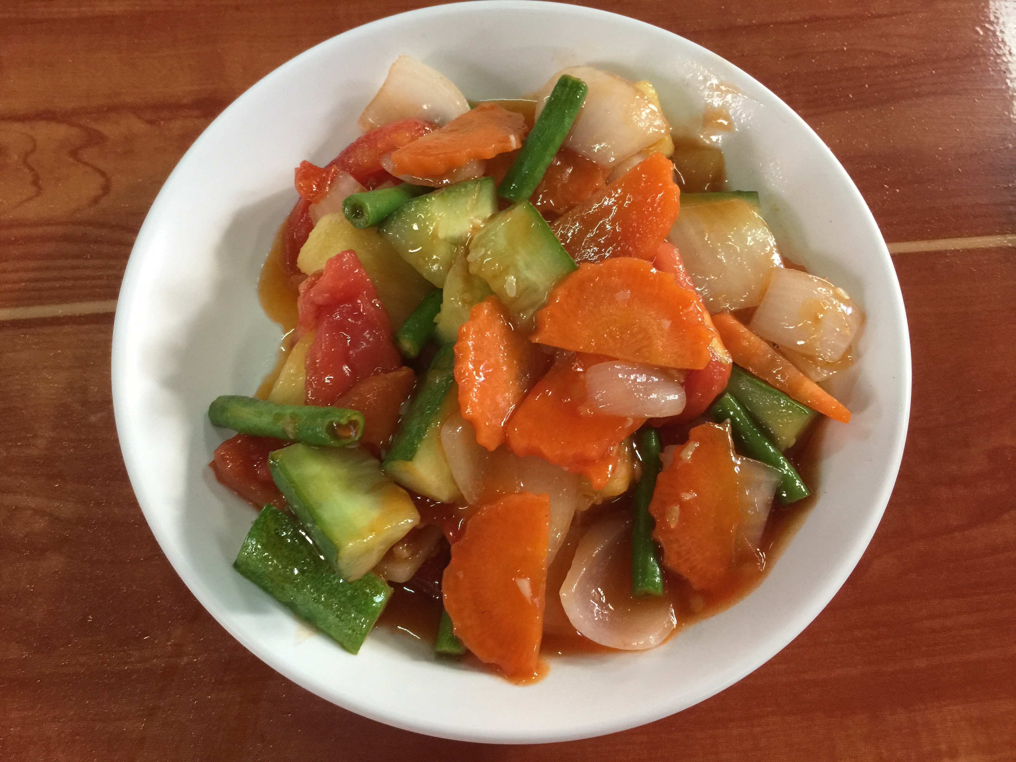 Sweet & Sour Vegetables