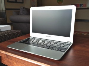 Samsung Chromebook 3 Sitting Open
