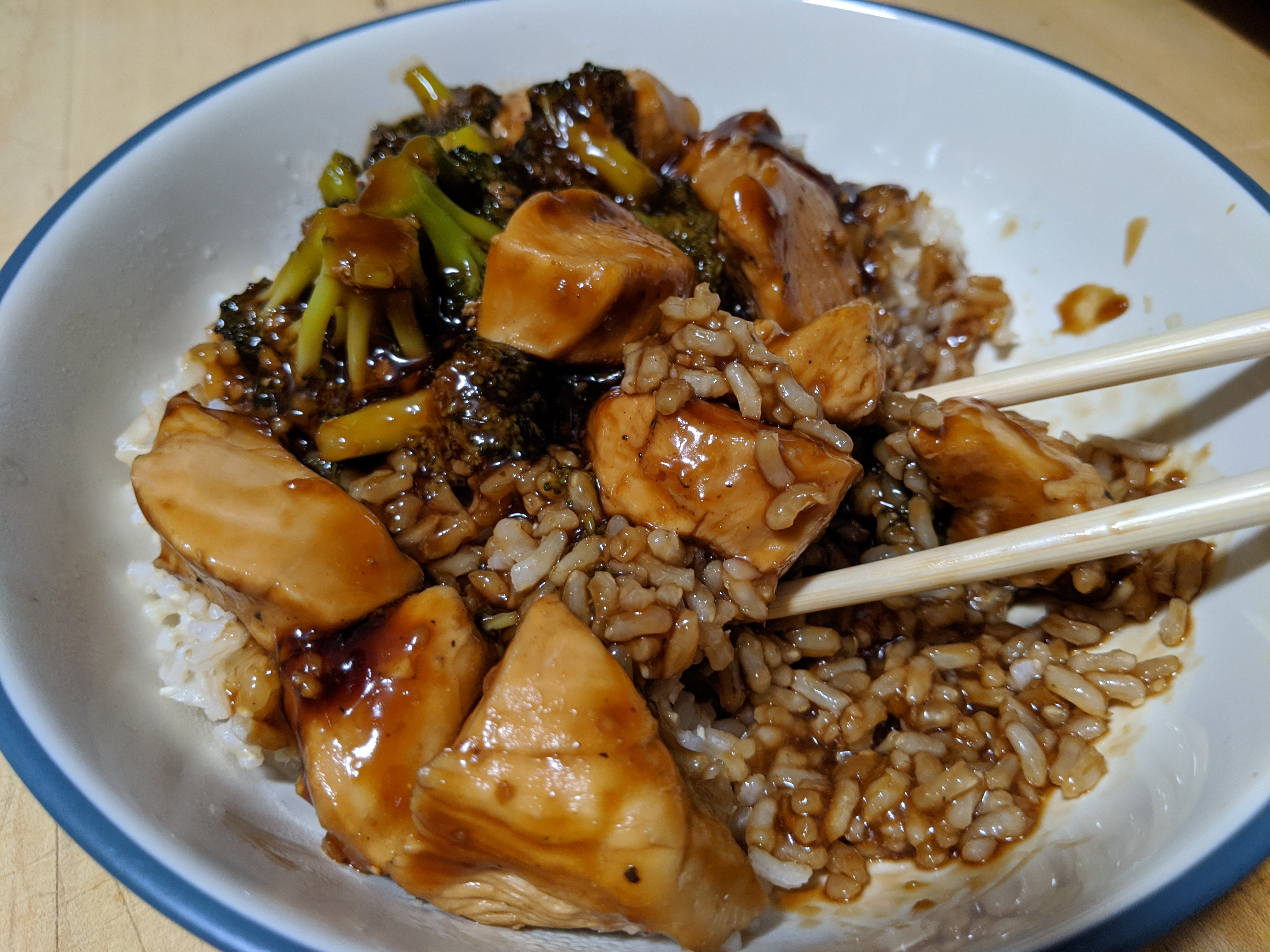 Image of Teriyaki Chicken and Broccoli