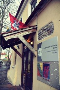 In Užupis Art Incubator you can find exhibitions of paintings and graphic works