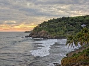 Surfing places are abundant in La Libertad coastline. A real paradise for a winter getaway.