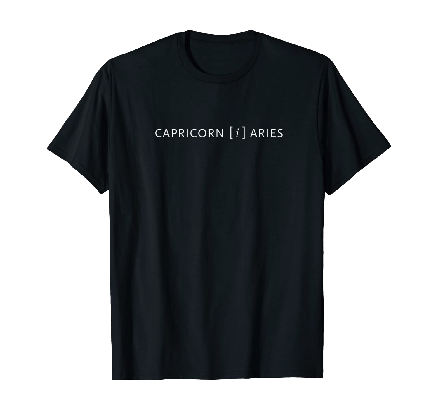T-Shirt: Capricorn i Aries Köln T-Shirt