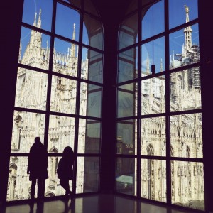 View from Museo del Novecento