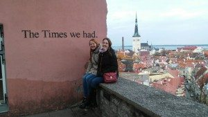 "The wall with ""The Times we had"" writing is a famous place for taking picture with special person"