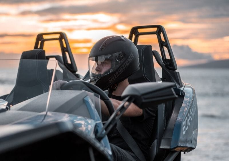 guest sitting in a Polaris Slingshot1