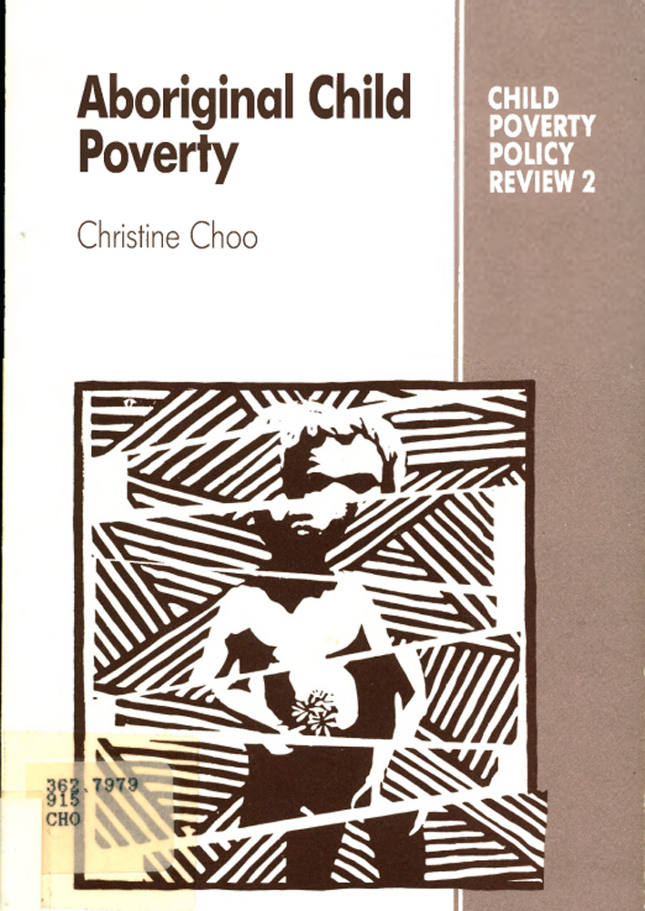 This is an image of the front cover of the report called Aboriginal Child Poverty.